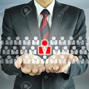 20645814-Empresario-con-signo-de-Recursos-Humanos-RRHH-gesti-n-de-recursos-humanos-el-concepto-de-desarrollo--Foto-de-archivo